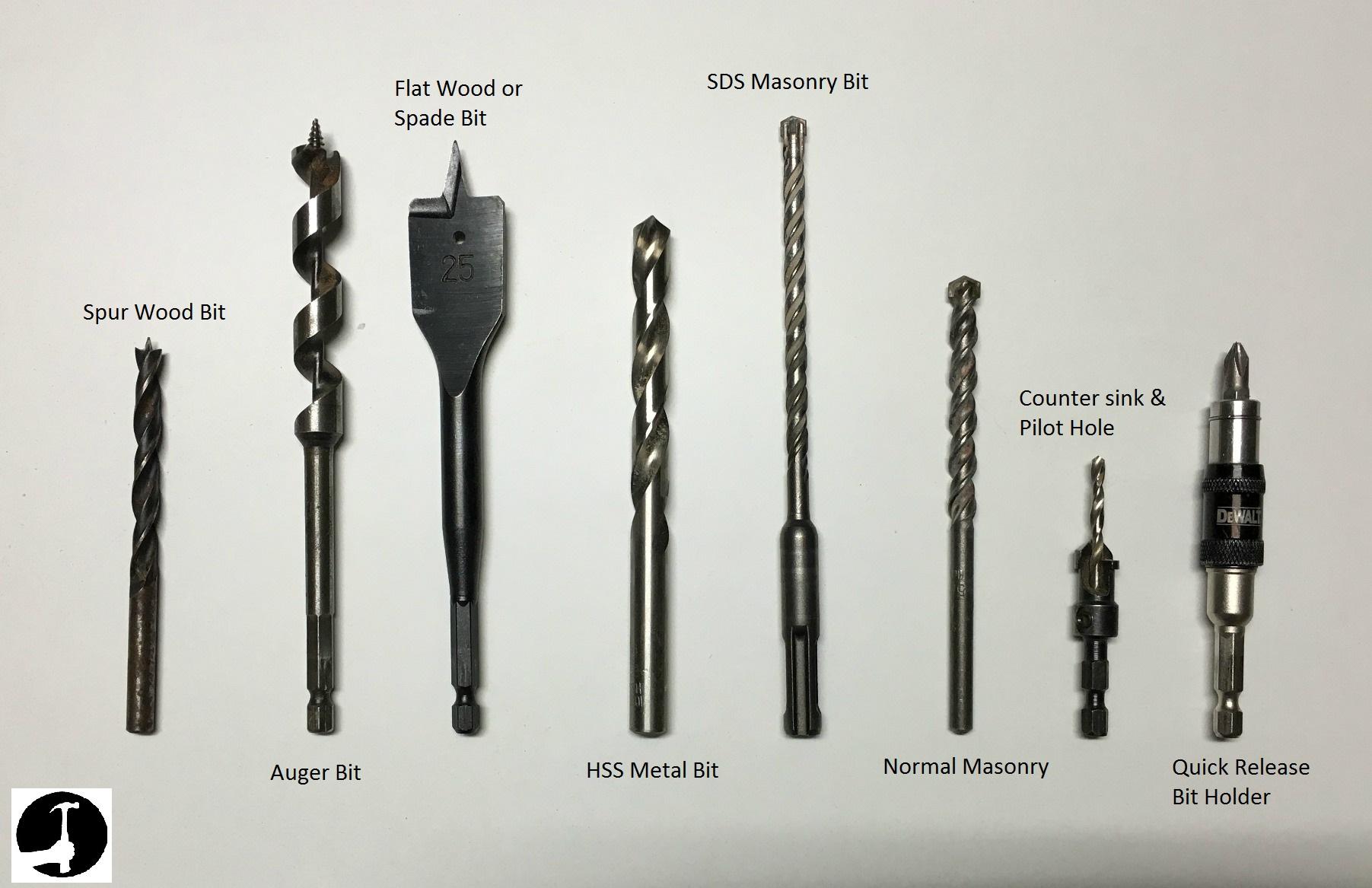 My drill bits
