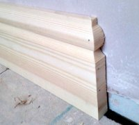 Finish carpentry - Skirting boards