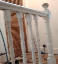 newel post installation