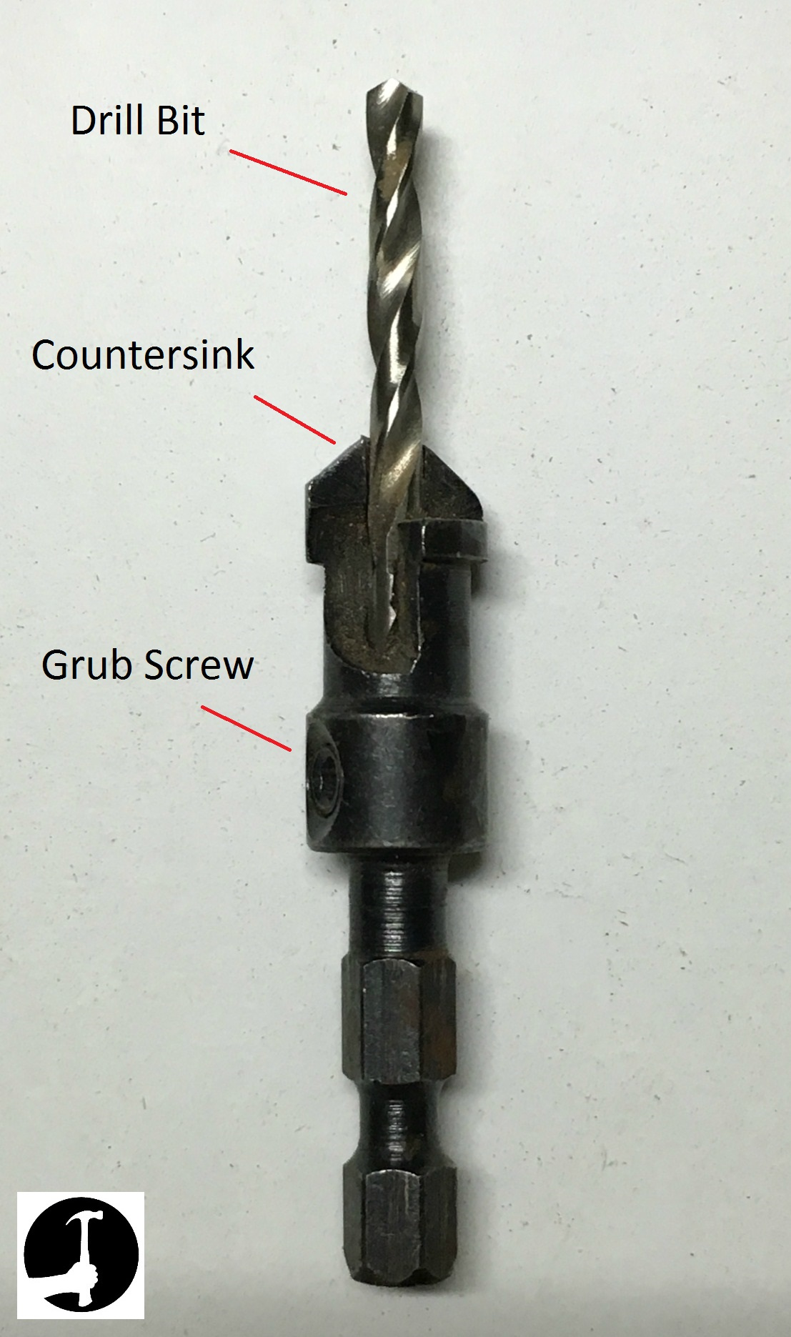 Drill and countersink bit
