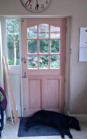 How to hang a stable door