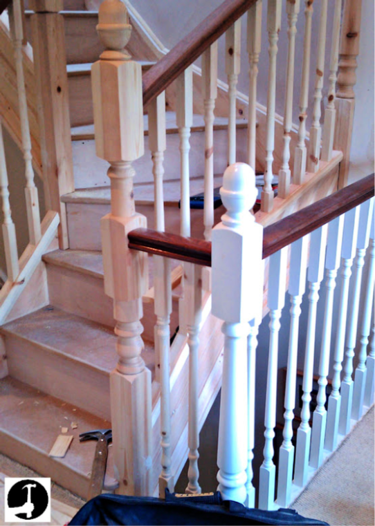 How to install perfect handrails and spindles