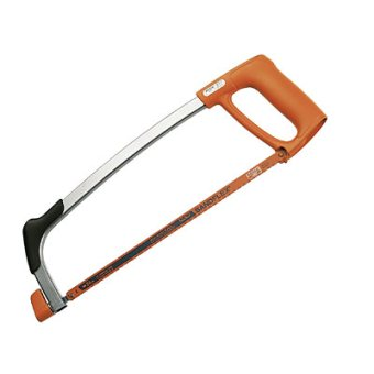 A hacksaw is the best type of hand saw for cutting metal