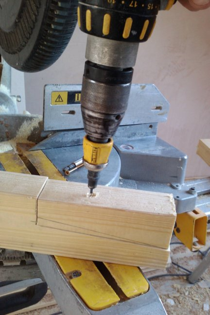 drill and countersink