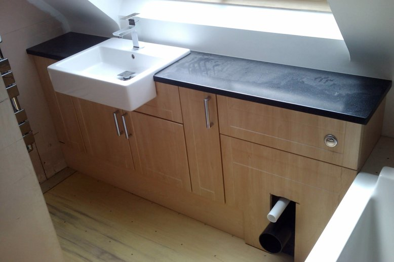 How to install bathroom vanity units