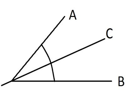 how to bisect an angle