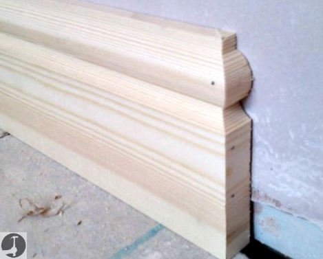 How to end skirting boards