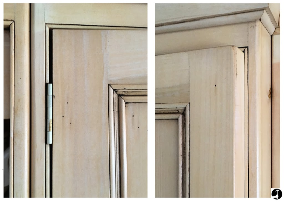 A common problem is loosened hinges and the door rubbing the frame as a result
