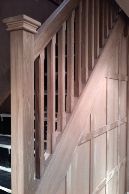 Finish carpentry - Installing stairs
