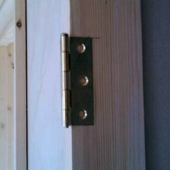 how to fit hinges