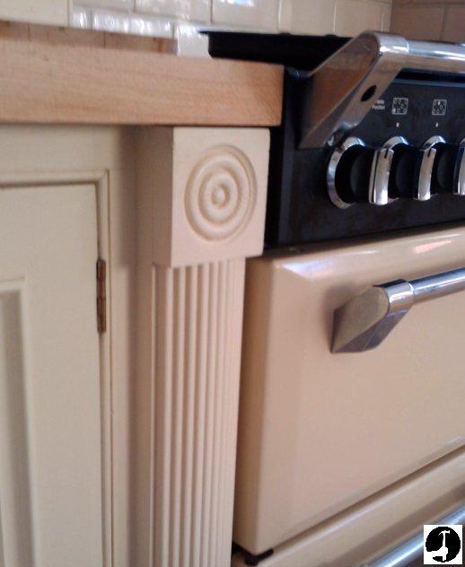 Using corner blocks in the kitchen