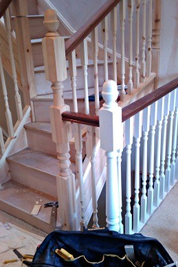 How to install handrails