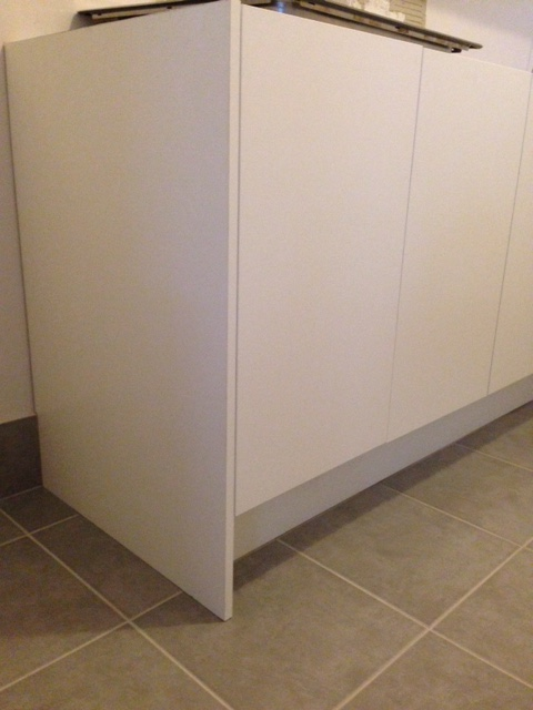 White Kitchen Cupboard End Panel NavTeo The best