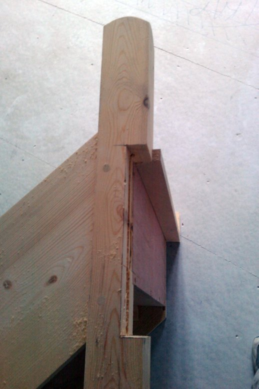 Pictures Of Newel Post Installation