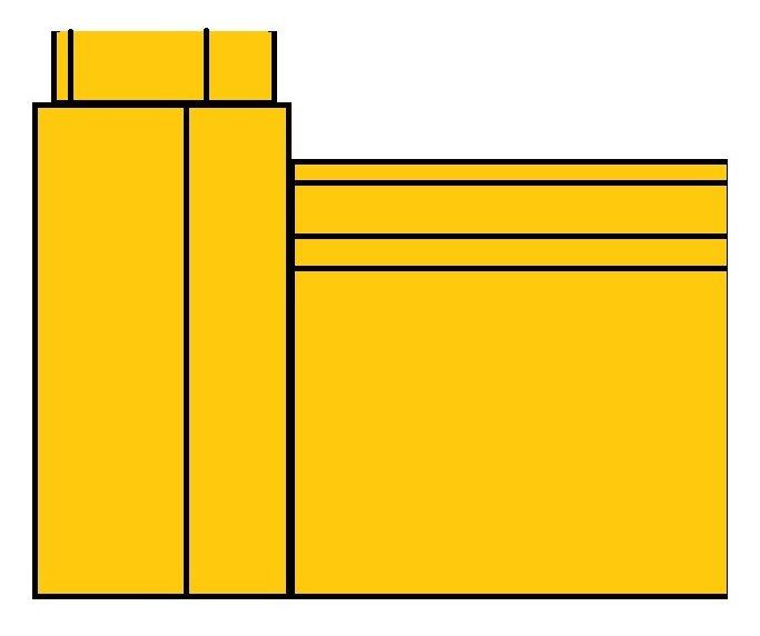 Architrave plinth blocks