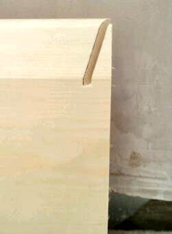 how to cut skirting board without removing