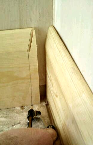 How to Cut Skirting Boards