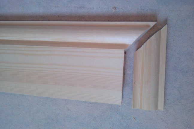 how to miter skirting boards
