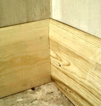 How To Scribe Skirting Board At Internal Corners