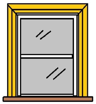 Victorian sash window board