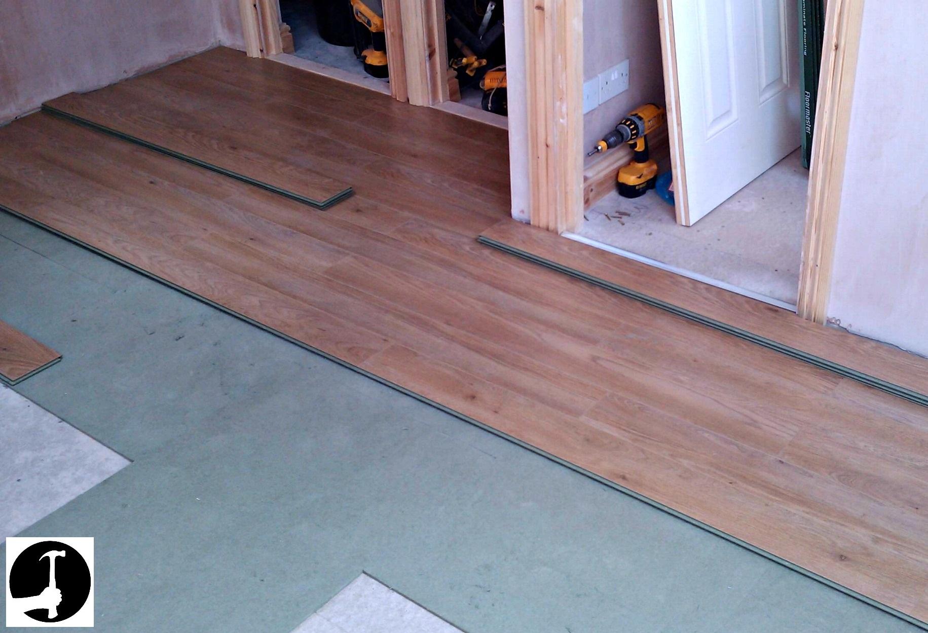 See How I Install Laminate Flooring To, How To Start Lay Laminate Flooring