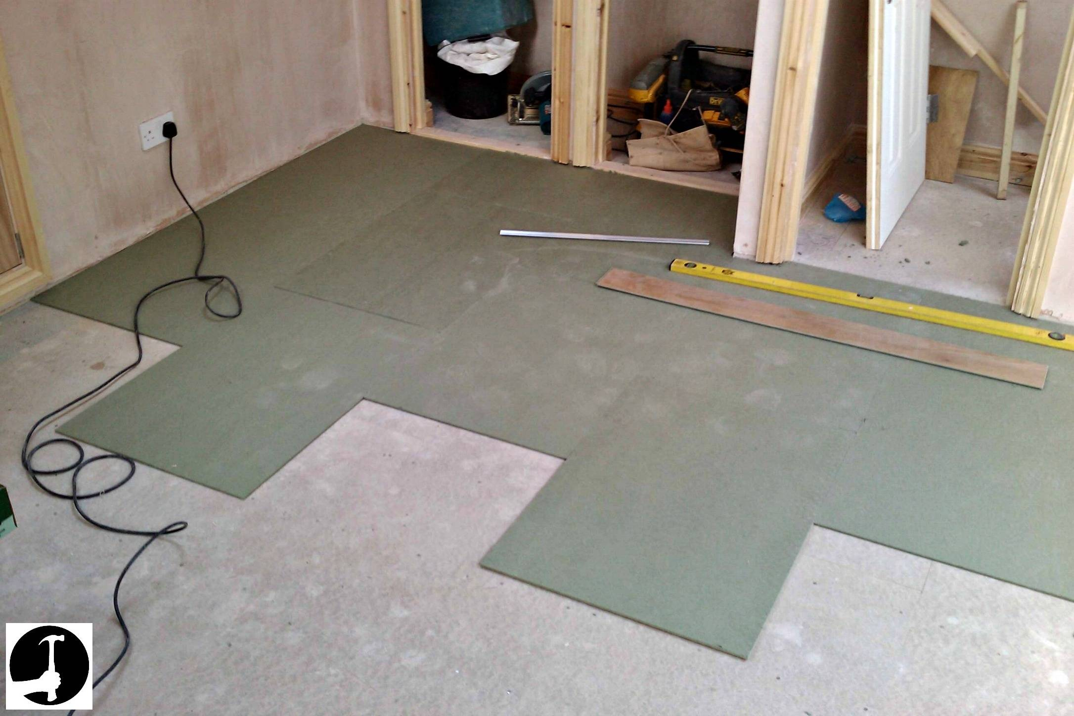 See How I Install Laminate Flooring To, How To Install Laminate Flooring On Concrete Slab