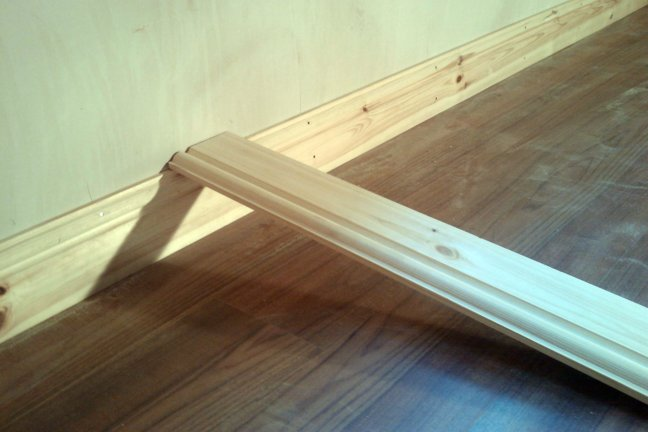 fixing skirting boards