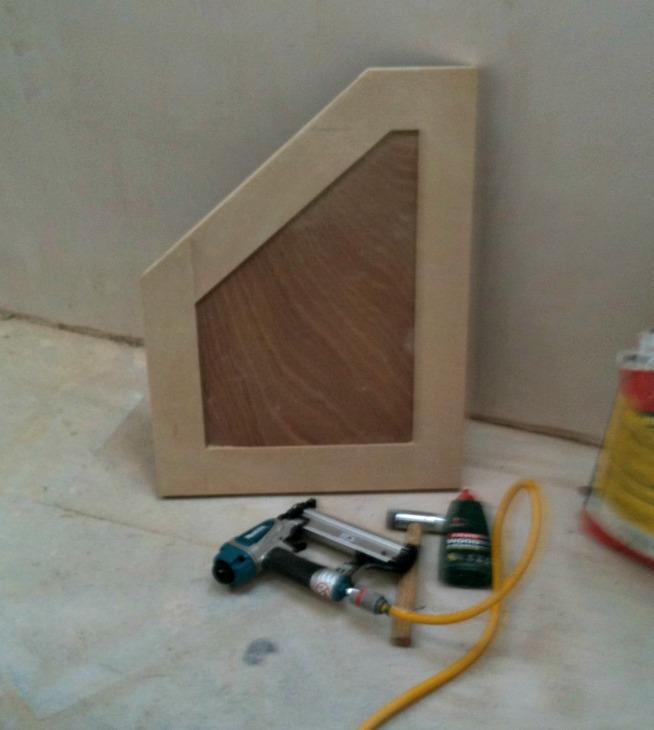 DIY making a shaker style door