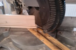 cutting 122.5 skirting angles