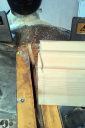 How to scribe unusual internal skirting angles