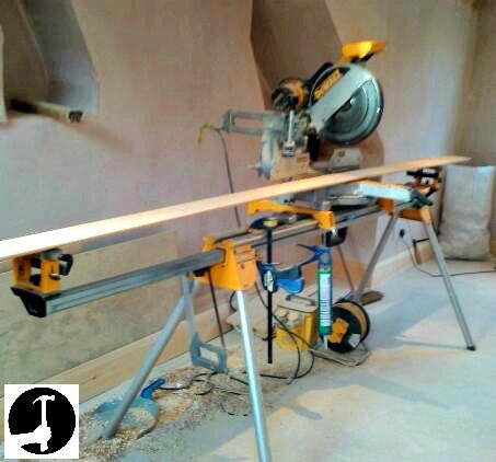 Skirting board tools