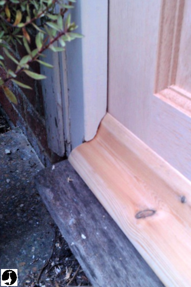 Fitting a stable door